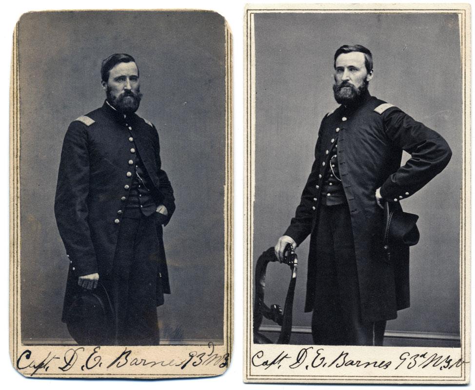 Two Views Of Capt Barnes I Recently Added A Carte De Visite