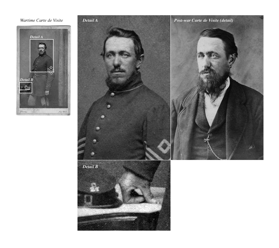 An Album Full Of Images The Hearne Family Maine Including One Carte De Visite A Union Soldier Identified As Luther Twelfth